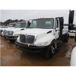 2007 INTERNATIONAL 4300 DUMP, VIN/SN:1HTMAAL87H444102 - S/A, DT466 ENGINE, IHC DIESEL ENG, A/T, 17,5