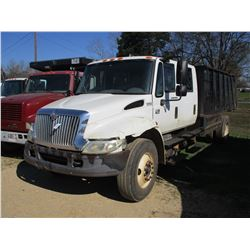 2005 INTERNATIONAL 4300 DUMP, VIN/SN:1HTMMAAR25H167285 - S/A, CREW CAB, DT466 ENGINE, A/T, AIR BRAKE