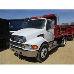 2007 STERLING ACTERRA DUMP, VIN/SN:2FWBCRK597AY27246 - S/A, MERCEDES DIESEL ENGINE, 6 SPEED TRANS, G