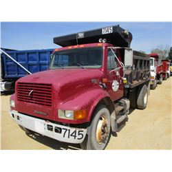 1997 INTERNATIONAL 4700 DUMP, VIN/SN:1HTSCAAN4VH491491 - S/A, INTERNATIONAL DIESEL ENGINE, 6 SPEED T