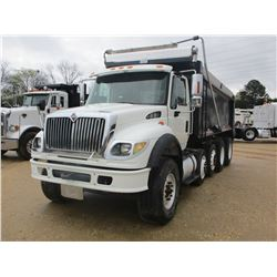 2007 INTERNATIONAL 7600 DUMP, VIN/SN:1HTWYAHT27J390582 - QUAD AXLE, CUMMINS ISM ENGINE, ALLISON A/T,