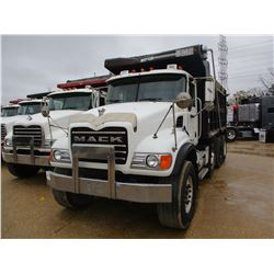 2004 MACK CV713 DUMP, VIN/SN:1M2AG11C24M014040 - TRI-AXLE, MACK AMI-370 ENGINE, MACK T310M 10 SPEED