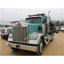 2006 KENWORTH W900B DUMP TRUCK, VIN/SN:1XKWDB0X96R114420 - T/A, 475 HP CAT C15 ENGINE, 10 SPEED TRAN