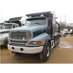 2006 STERLING DUMP, VIN/SN:2FZHAZAV36AW57261 - TRI-AXLE, CAT DIESEL ENGINE, 8LL TRANS, 46K REAR, 20K