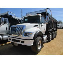 2005 INTERNATIONAL 7600 DUMP, VIN/SN:1HTWYAH795J132153 - TRI-AXLE, CUMMINS DIESEL ENGINE, ALLISON A/