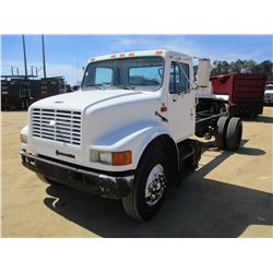 1997 INTERNATIONAL 4700 CAB & CHASSIS, VIN/SN:1HTSCABN4VH437235 - S/A, T444E ENGINE, A/T, AIR BRAKES