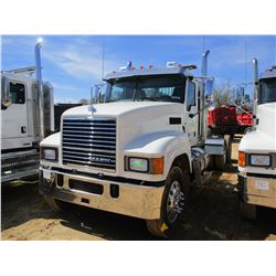 2017 MACK CHU613 TRUCK TRACTOR, VIN/SN:1M1AN07Y4HM061390 - T/A, 505 HP MACK MP8 ENGINE, 18 SPEED TRA