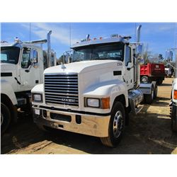 2017 MACK CHU613 TRUCK TRACTOR, VIN/SN:1M1AN07Y9HM026411 - T/A, 505 HP MACK MP8 ENGINE, MACK T318 18