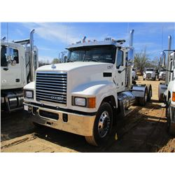 2018 MACK CHU613 TRUCK TRACTOR, VIN/SN:1M1AN07Y1HM025818 - T/A, 505 HP MACK MP8 ENGINE, MACK T318 18