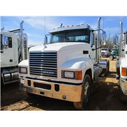 2018 MACK CHU613 TRUCK TRACTOR, VIN/SN:1M1AN07YXJM026729 - T/A, 505 HP MACK MP8 ENGINE, MACK T318 18