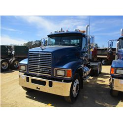 2009 MACK CHU613 TRUCK TRACTOR, VIN/SN:1M1AN07Y39N005064 - T/A, 485 HP MACK MP8, 485 ENGINE, 18 SPEE