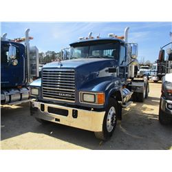 2009 MACK CHU613 TRUCK TRACTOR, VIN/SN:1M1AN07Y59N005065 - T/A, MACK MP8-485C ENGINE, 18 SPEED TRANS