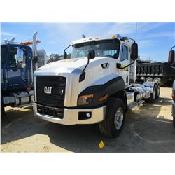 2016 CAT CT660L TRUCK TRACTOR, VIN/SN:3HSJKTKT3GN268038 - T/A, 475 HP CAT CT13 ENGINE, A/T, 45,400#