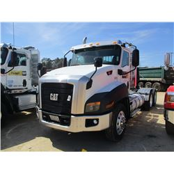 2015 CAT CT660S TRUCK TRACTOR, VIN/SN:3HSJGTKT1FN528419 - T/A, 475 HP CAT CT13 ENGINE, A/T, 45,400#