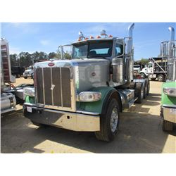 2013 PETERBILT 388 TRUCK TRACTOR, VIN/SN:1XPWDW9X60D168773 - TRI-AXLE, CUMMINS ENGINE, 10 SPEED TRAN
