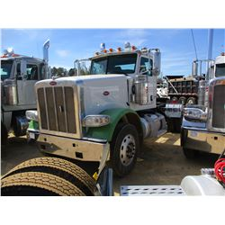 2013 PETERBILT 388 TRUCK TRACTOR, VIN/SN:1XPWDW9X5DD178243 - T/A, CAT C15 (6NZ) ENGINE,10 SPEED TRAN