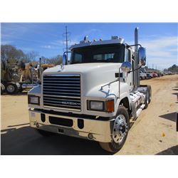 2016 MACK CHU613 TRUCK TRACTOR, VIN/SN:1M1AN07YXGM022107 - T/A, 505 MACK MP8 ENGINE, 18 SPEED TRANS,