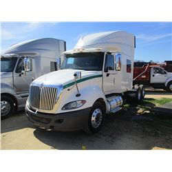 2012 INTERNATIONAL PROSTAR PLUS TRUCK TRACTOR, VIN/SN:3HJDJDJR8CN043754 - T/A, IHC MAXXFORCE DIESEL