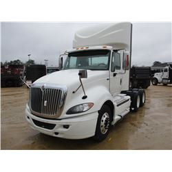 2013 INTERNATIONAL PRO STAR TRUCK TRACTOR, VIN/SN:1HSDHSHR5DT173012 - T/A, MAXXFORCE DIESEL ENGINBE,