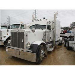 2007 PETERBILT 379 TRUCK TRACTOR, VIN/SN:1XP5DB9X07D685009 - T/A, CAT DIESEL ENGINE, 13 SPEED TRANS,