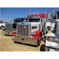 2003 PETERBILT 379 TRUCK TRACTOR, VIN/SN:1XP5DB9X93D804721 - T/A, 475HP CAT 3406 DIESEL ENGINE, 10 S