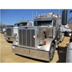 2006 PETERBILT 379 TRUCK TRACTOR, VIN/SN:1XP5D49X16D630207 - T/A, 450HP CUMMINS ISX ENGINE, 18 SPEED