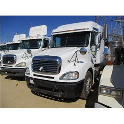 2006 FREIGHTLINER COLUMBIA TRUCK TRACTOR, VIN/SN:1FUJA6CK86LV63833 - T/A, S60 DETROIT DIESEL ENGINE,