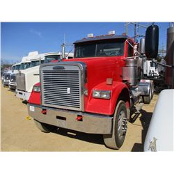 2007 FREIGHTLINER TRUCK TRACTOR, VIN/SN:1FUJALCUX7DW64800 - T/A, MERCEDES BENZ OM460LA ENGINE, 10 SP