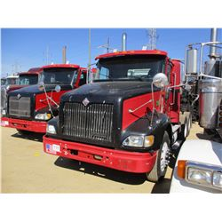 2005 INTERNATIONAL 9200i TRUCK TRACTOR, VIN/SN:2HSCESBR65C133584 - T/A, CAT C13 ENGINE, 10 SPEED TRA