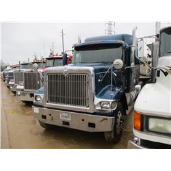2003 INTERNATIONAL 9900i TRUCK TRACTOR, VIN/SN:3HSCHAPR93N059602 - T/A, ISX435ST CUMMINS ENGINE, 10
