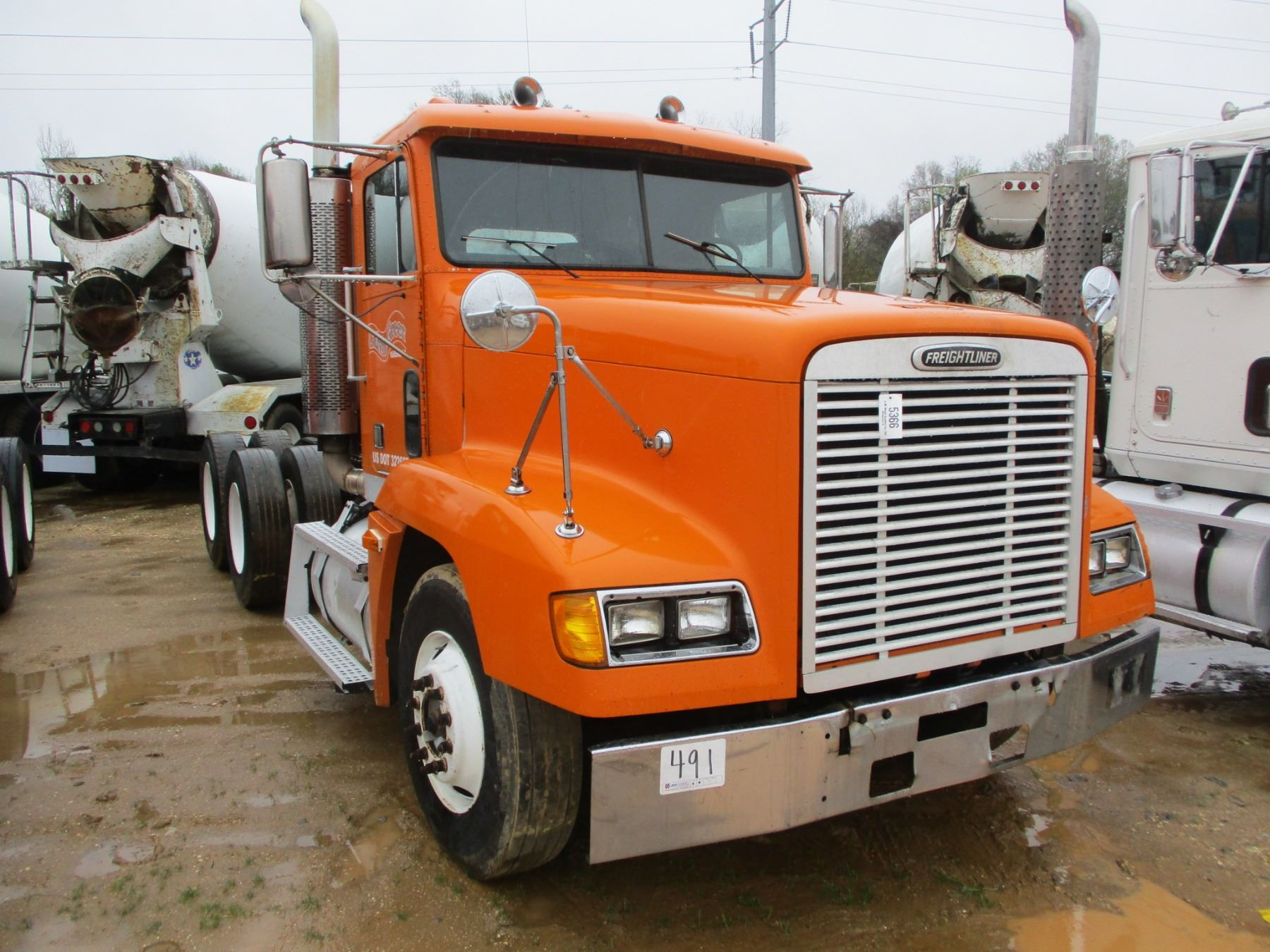 1995 Freightliner Truck Tractor  Vin  Sn 1fuydzyb1sh673118