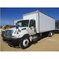 2010 INTERNATIONAL 4300 DURASTAR VAN, VIN/SN:1HTMMAAL3AH232070 - MAXFORCE ENGINE, A/T, AIR BRAKES, M