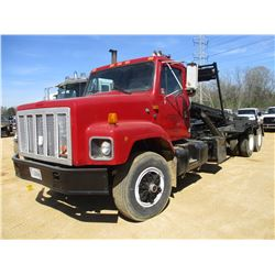 1991 INTERNATIONAL 2674 ROLL OFF TRUCK, VIN/SN:1HTGLGCR9MH320176 - T/A, IHC DIESEL ENGINE, 9 SPEED T