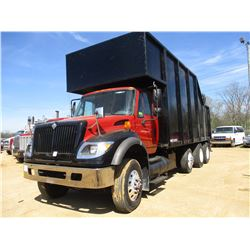 2006 INTERNATIONAL 7600 TRASH TRUCK, VIN/SN:1HTWYAHR56J344991 - TRI-AXLE, IHC DIESEL ENGINE, 10 SPEE