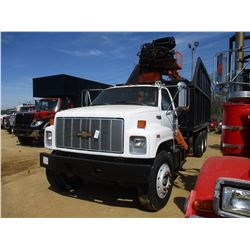 1994 CHEVROLET KODIAK TRASH TRUCK, VIN/SN:1GBT7H4J1RJ110285 - T/A, CAT DIESEL ENGINE, 8 SPEED TRANS,