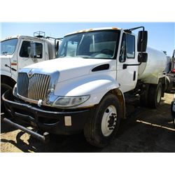 2009 INTERNATIONAL 4300 WATER TRUCK, VIN/SN:1HTMMAAM29H693328 - 7.6 LT IHC ENGINE, A/T, LEDWELL WATE