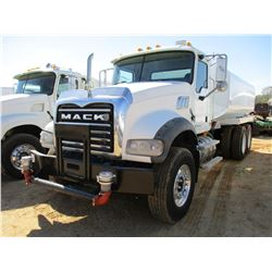 2007 MACK CPT713 WATER TRUCK, VIN/SN:1M2AT04C87M003890 - T/A, MACK DIESEL ENGINE, ALLISON A/T, 44K R