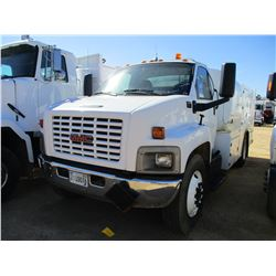 2005 GMC C6500 FUEL & LUBE TRUCK, VIN/SN:1GDJ6C1C95F504382 - S/A, CAT DIESEL ENGINE, A/T, AIR COMPRE