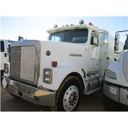 1987 INTERNATIONAL 9370 FUEL TRUCK, VIN/SN:2HTFC000XGCA10402 - T/A, DETRIOT DIESEL ENGINE, 10 SPEED
