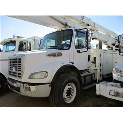 2006 FREIGHTLINER BUSINESS CLASS M2 BUCKET TRUCK, VIN/SN:1FYHC5DE76HY97580 - T/A, CAT DIESEL ENGINE,