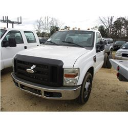 2009 FORD F350 CAB & CHASSIS, VIN/SN:1FDWF36R29EA00321 - S/A, DUALLY, POWERSTROKE V8, A/T
