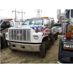 1996 GMC TOP KICK ROLLBACK, VIN/SN:1GDJ6H1J9TJ508969 - S/A, CAT DIESEL ENGINE, 6 SPEED TRANS, 19' RO