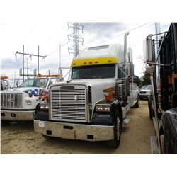 1998 FREIGTHLINER WRECKER, VIN/SN:2FU9DX2B8WA918438 - T/A, CAT DIESEL ENGINE, 18 SPEED TRANS, 40K RE