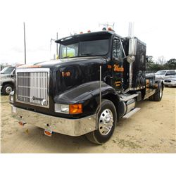 1995 INTERNATIONAL 9200 WRECKER, VIN/SN:2HSFMAHR1SC012717 - S/A, CUMMINS M14 ENGINE, 9 SPEED TRANS,