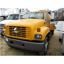 2001 CHEVROLET C6500 SEWER TRUCK, VIN/SN:1GBG6H1C71J509846 - S/A, CAT DIESEL ENGINE, A/T, SECO FLEXI