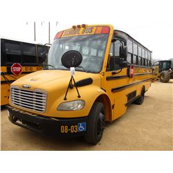 2008 FREIGHTLINER SCHOOL BUS, VIN/SN:4UZABRCS68CY48423 - 16 PASSENGER, A/C, A/T, ODOMETER READING 11