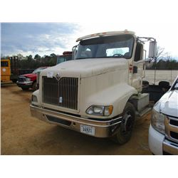 2005 INTERNATIONAL 9200i TRUCK TRACTOR, VIN/SN:3HSCESBR25N006278 - T/A, DIESEL ENGINE, 10 SPEED TRAN