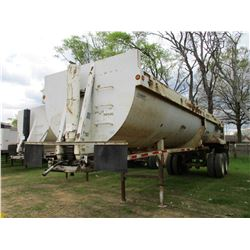 2006 CLEMENT ROCK STAR DUMP TRAILER, VIN/SN:5C28832B46M005207 - FRAMELESS, 32', T/S, HIGH LIFT TAILG