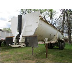 2007 CONSTRUCTION HRD-32 DUMP TRAILER, VIN/SN:5TU3432207S000184 - FRAMELESS, 32', T/A, HIGH LIFT GAT