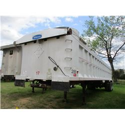 TI-BROOK DUMP TRAILER, - T/A, FRAMELESS, 39', ALUM, 11R22.5 TIRES